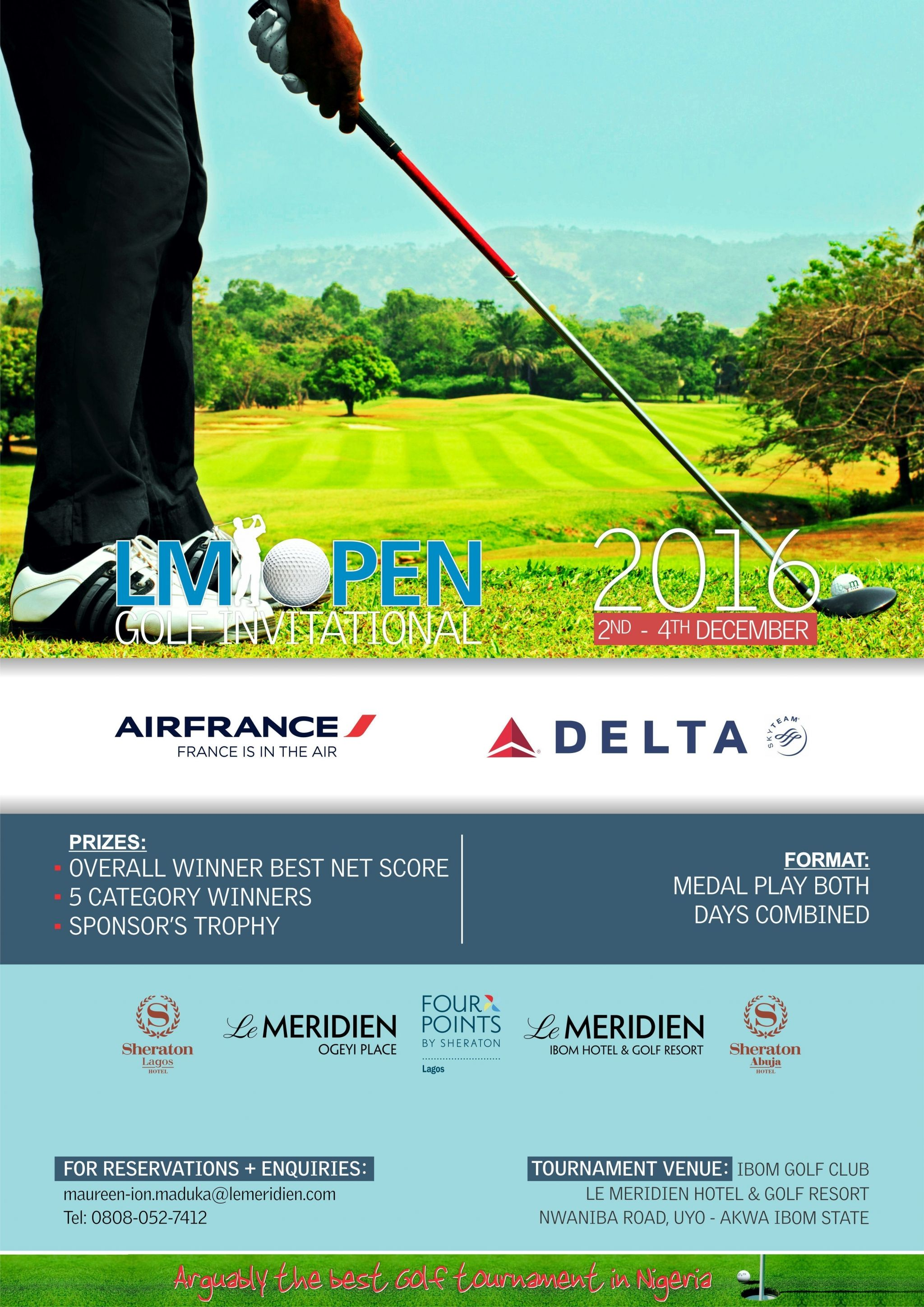 Ibom Golf Tournament 2016